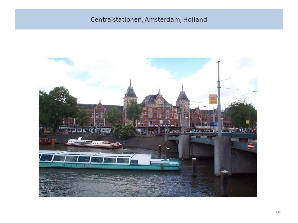 Centralstationen, Amsterdam, Holland 35