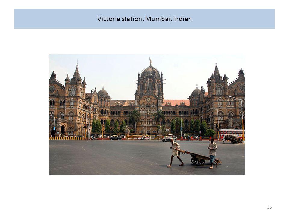 Victoria station, Mumbai, Indien 36
