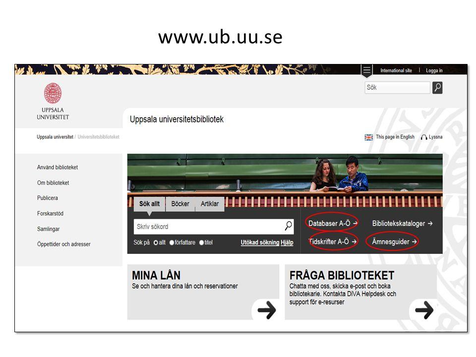 www.ub.uu.se