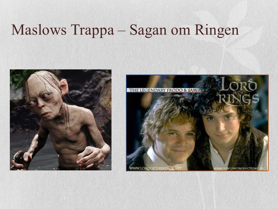 Maslows Trappa – Sagan om Ringen
