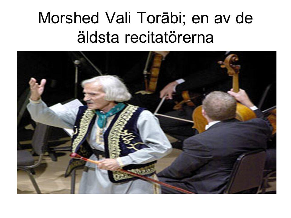 Morshed Vali Torābi; en av de äldsta recitatörerna