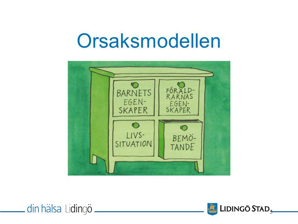 Orsaksmodellen 5