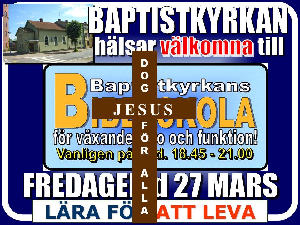 DOGFÖRALLADOGFÖRALLA JESUS