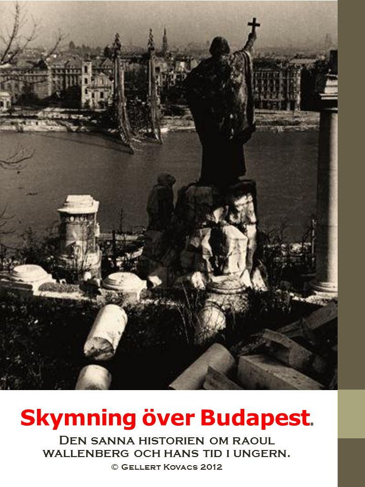 Skymning över Budapest.
