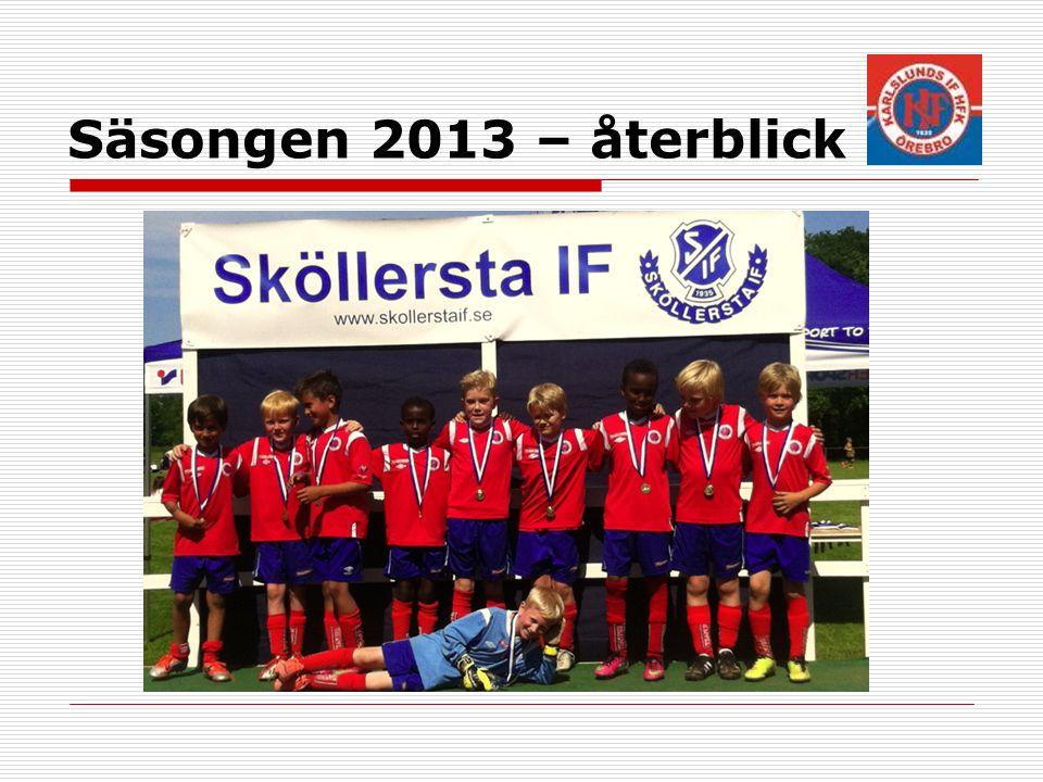 Seriespel 2014  Speltid 2*25 min  Vi är EN spelartrupp med två st.
