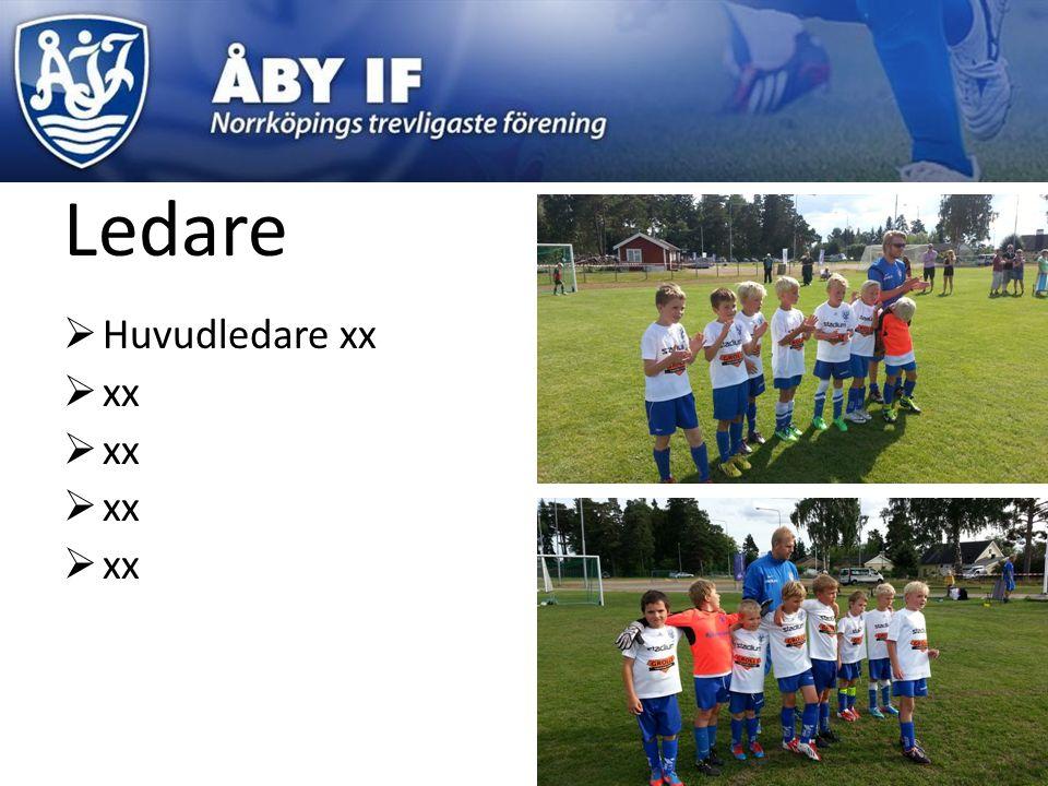 Målsättning för 2014 -Roliga och lärorika träningar -Fokus på regler kring 5/7/11-manna fotboll -Stimulera individuell utv.