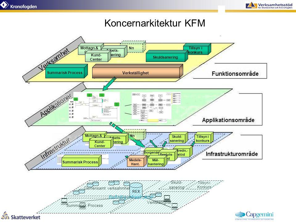 Tillsyn i konkurs Skuldsanering Summarisk Process Mottagn.& Distr.