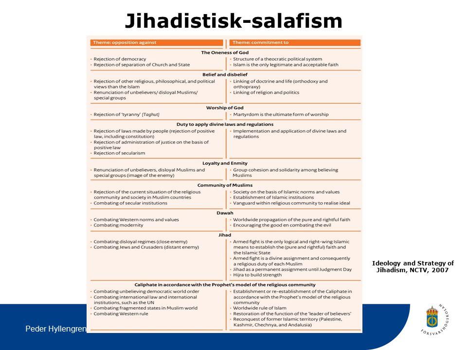 Peder Hyllengren Jihadistisk-salafism Ideology and Strategy of Jihadism, NCTV, 2007