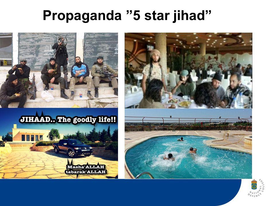 Propaganda 5 star jihad