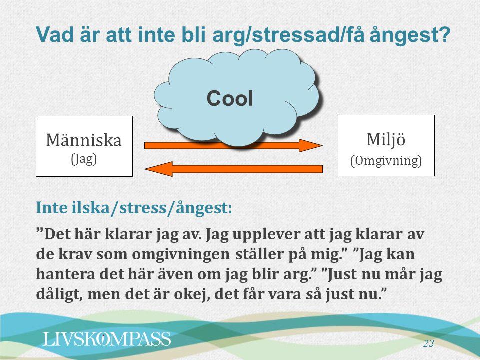 Om stress (2.5 minuter) X
