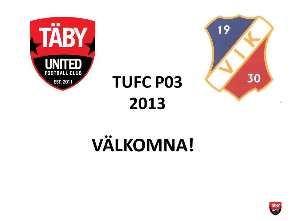 TUFC P03 2013 VÄLKOMNA!