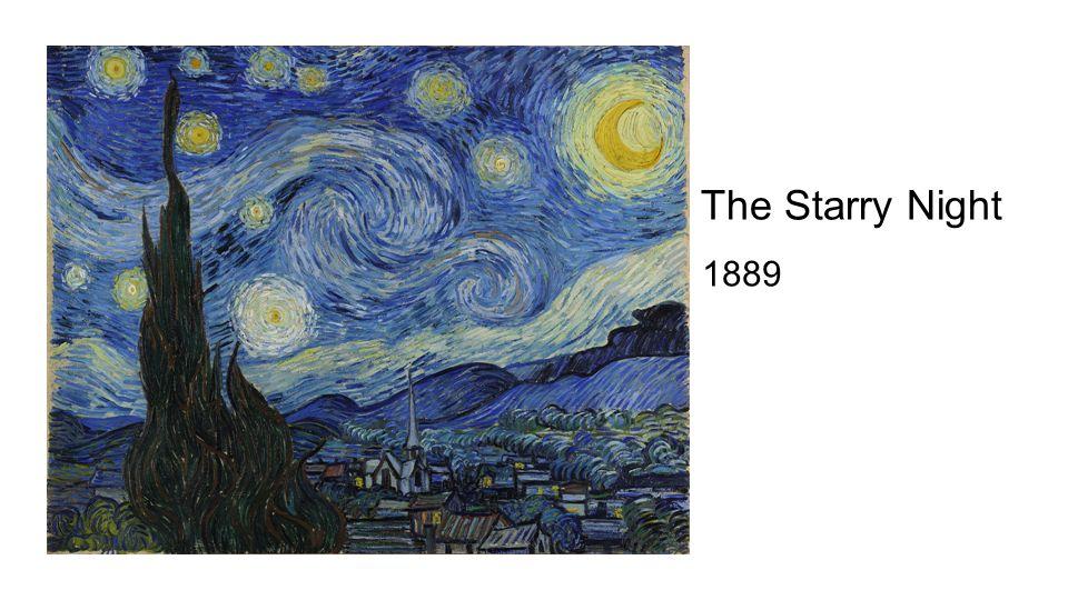 1889 The Starry Night