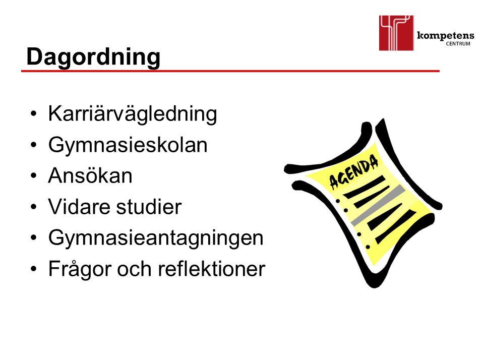 Kungsbacka Kommun Enheten för Vuxnas Lärande Enheten för Vägledning Enheten för Arbetsliv Kompetens- centrum Studion