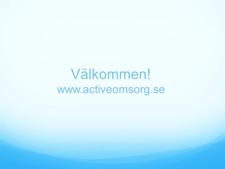Välkommen! www.activeomsorg.se
