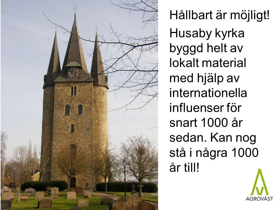 Målet är att utveckla ett hållbart svenskt jordbruk.