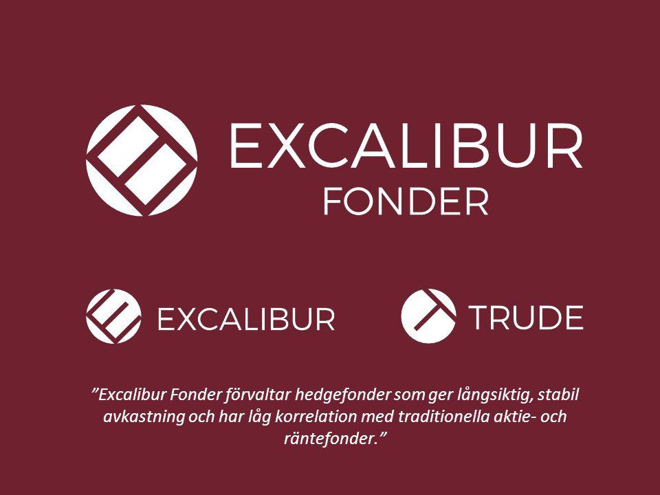 EXCALIBUR FONDER 22 Tack för visat intresse! www.excaliburfonder.se