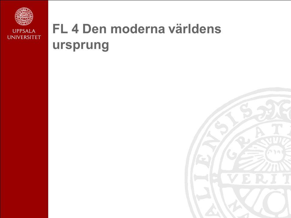 FL 4 Den moderna världens ursprung