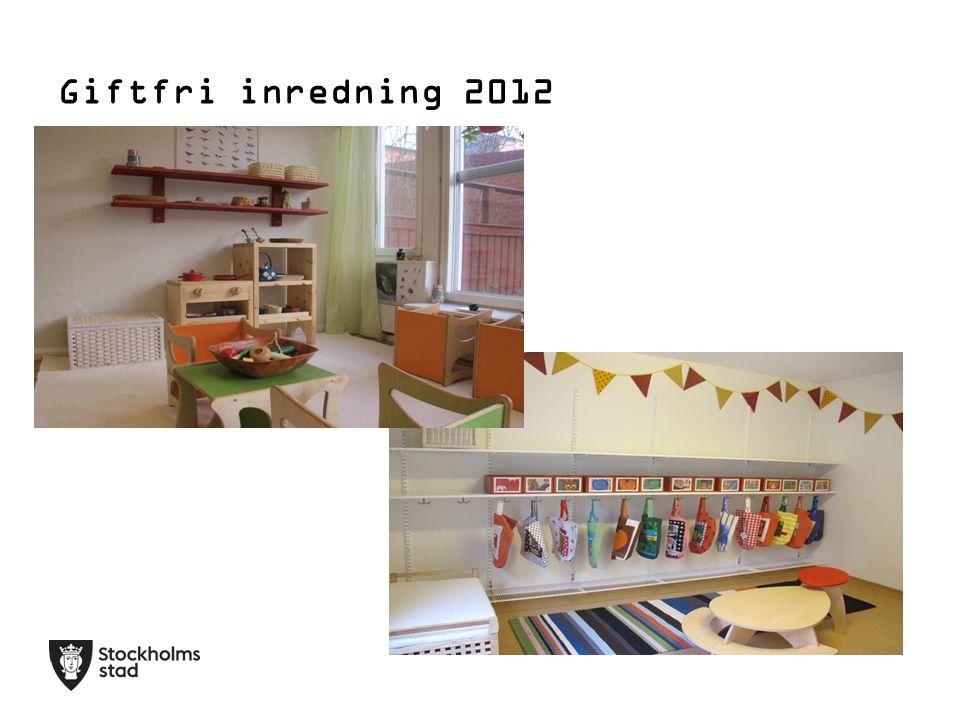 Giftfri inredning 2012