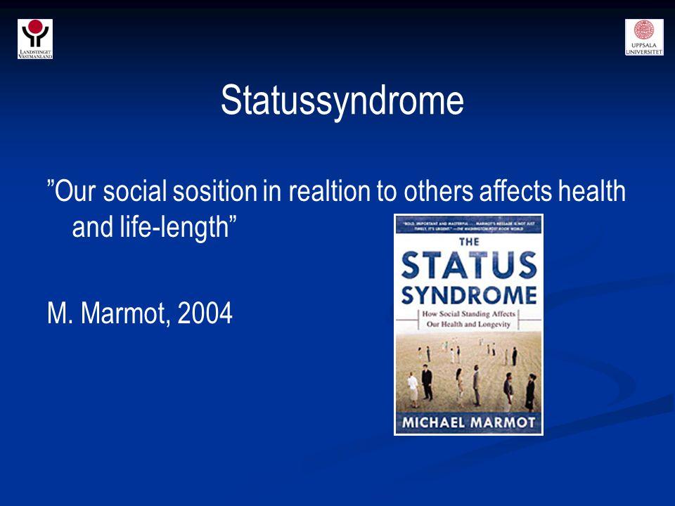 Social Capital, Social Trust & Drugs *** * O.R.