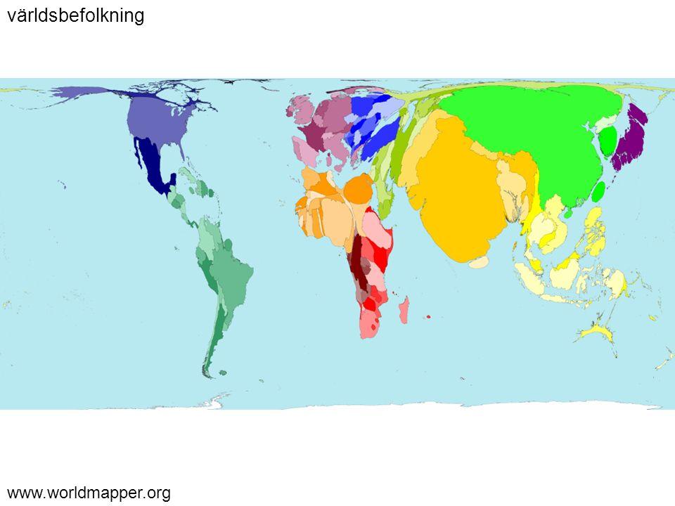 www.worldmapper.org världsbefolkning