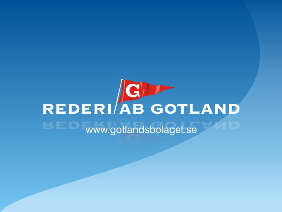 Rederi AB Gotlands utvecklingsplan 1999 –