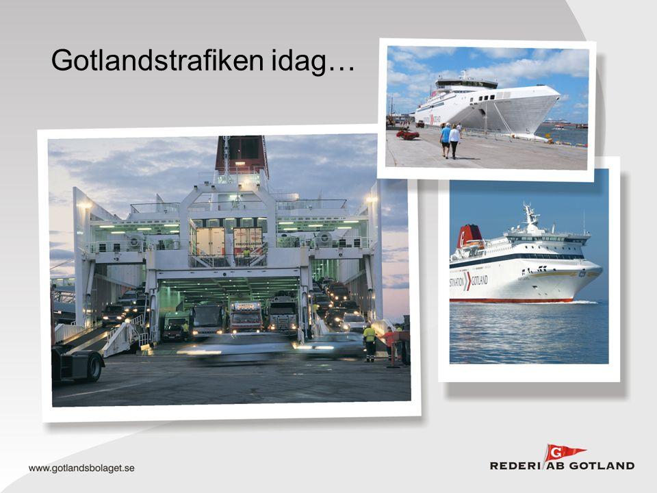 Gotlandstrafiken idag…