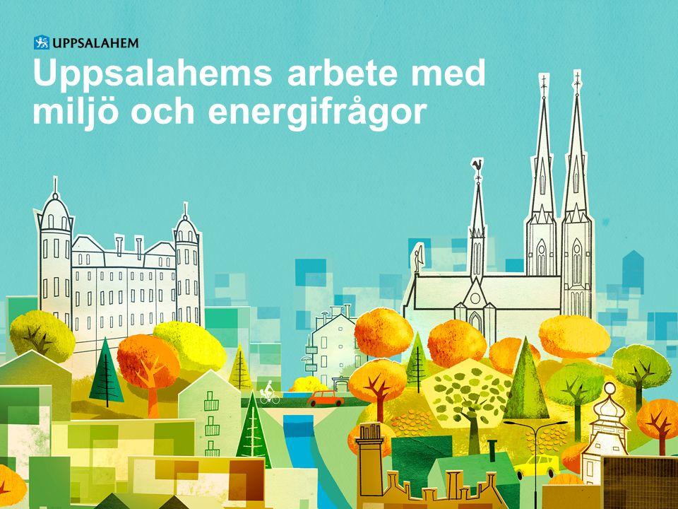 Uppsalahems arbete med miljö och energifrågor