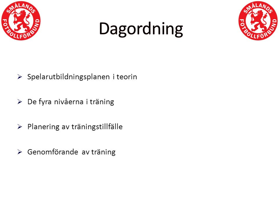 GÅ TRÄNARUTBILDNING.