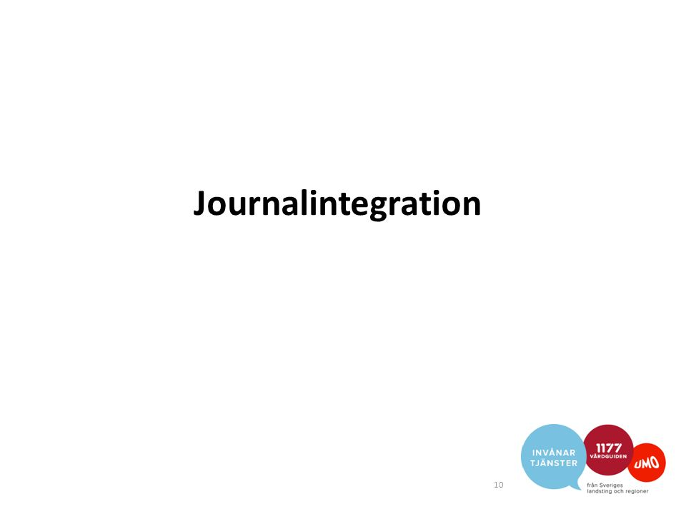 Journalintegration 10