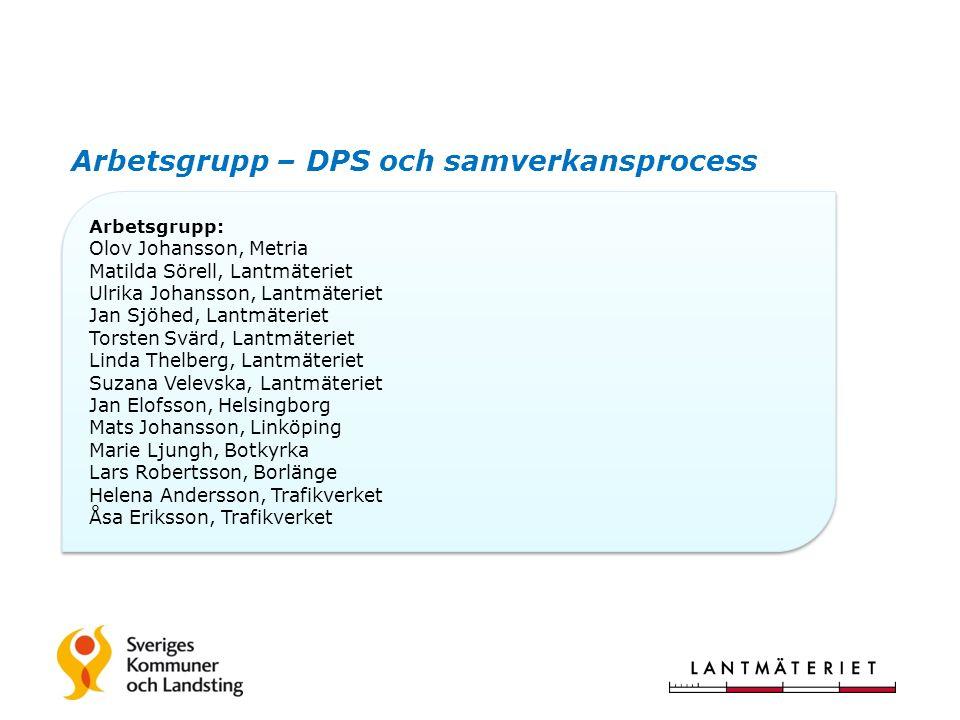 Väg och Järnväg, förslag till förändring av NVDB (Dataproduktspecifikation)