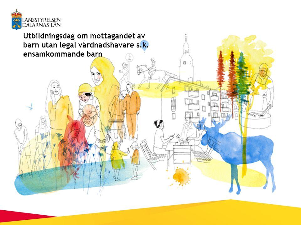 Utbildningsdag om mottagandet av barn utan legal vårdnadshavare s.k. ensamkommande barn