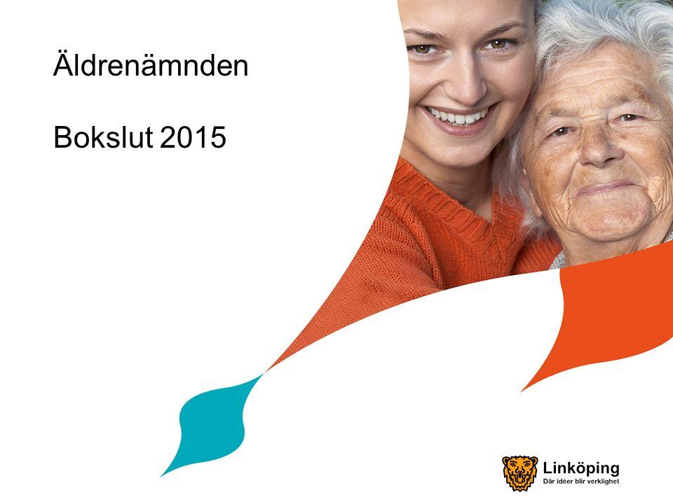 Måluppfyllelse, nämndens tre viktigaste mål Äldre i Linköpings kommun ska känna sig trygga med att stöd och hjälp finns att få när behov uppstår – delvis uppnått.