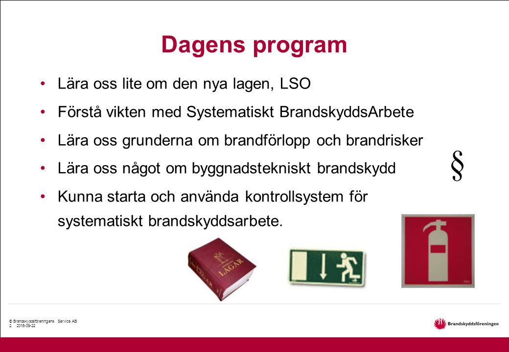 © Brandskyddsföreningens Service AB 2.