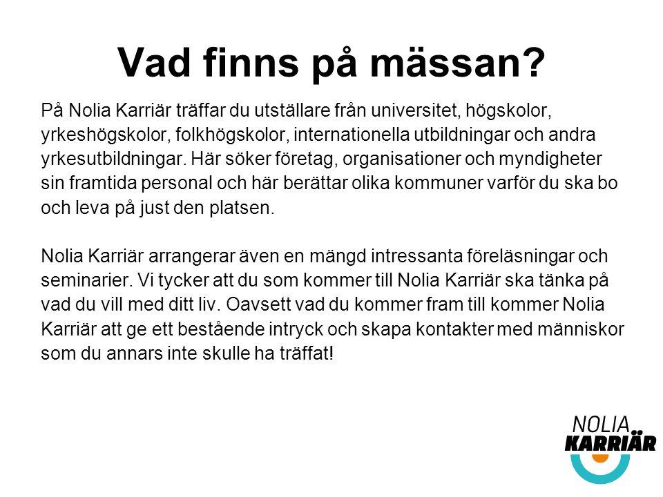 Dessa utställare träffar du på mässan i Sundsvall.