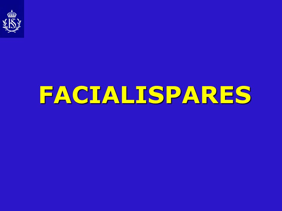 FACIALISPARES