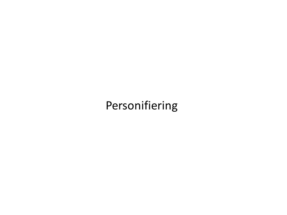 Personifiering