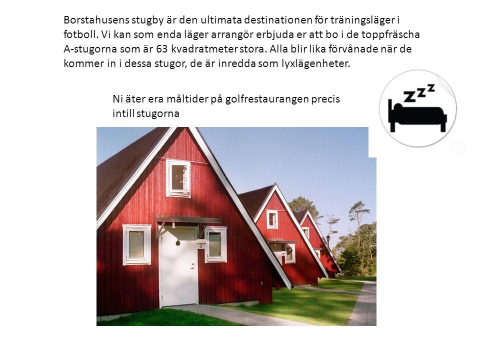 Borstahusens stugby är den ultimata destinationen för träningsläger i fotboll.