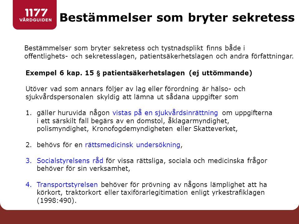 Exempel 26 kap.