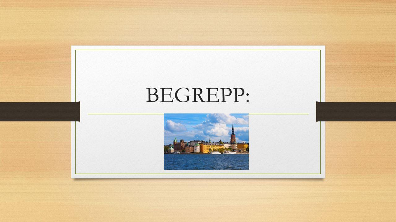 BEGREPP: