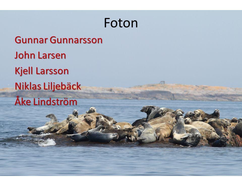 Foton Gunnar Gunnarsson John Larsen Kjell Larsson Niklas Liljebäck Åke Lindström