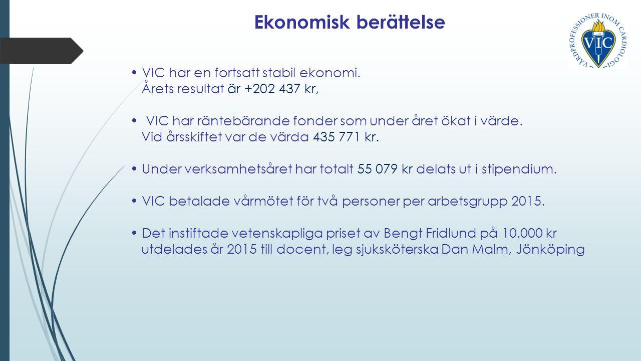 VIC har en fortsatt stabil ekonomi.