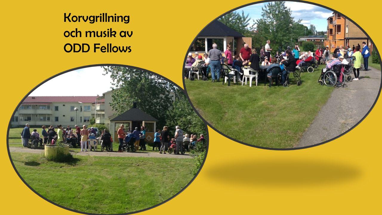 Korvgrillning och musik av ODD Fellows