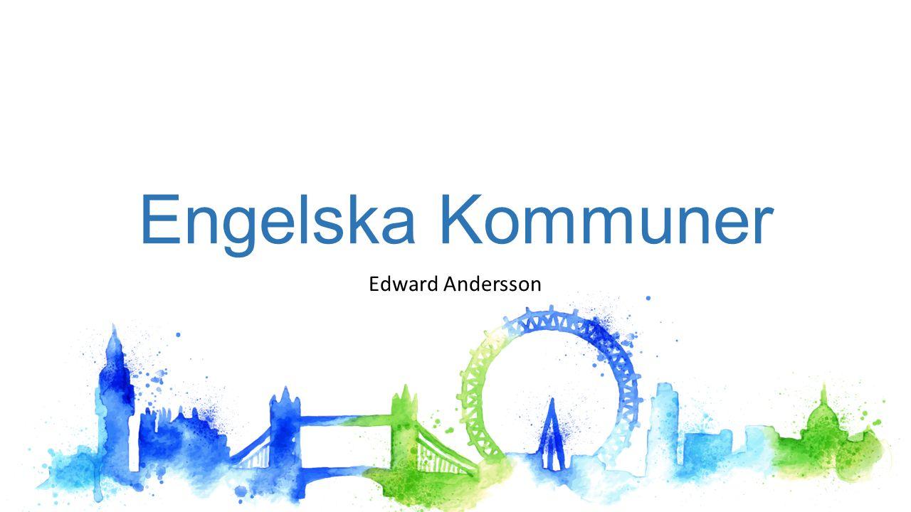 Engelska Kommuner Edward Andersson