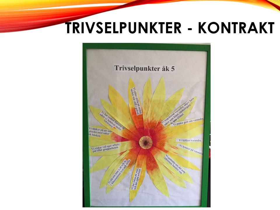 TRIVSELPUNKTER - KONTRAKT