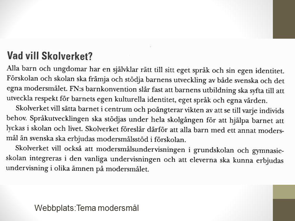 Webbplats:Tema modersmål