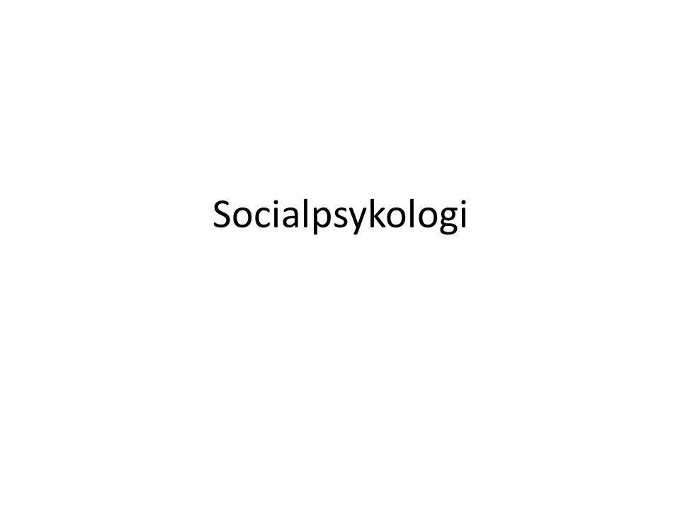 Den sociala situationen avgörande för hur vi beter oss För att förstå människan måste man förstå gruppen