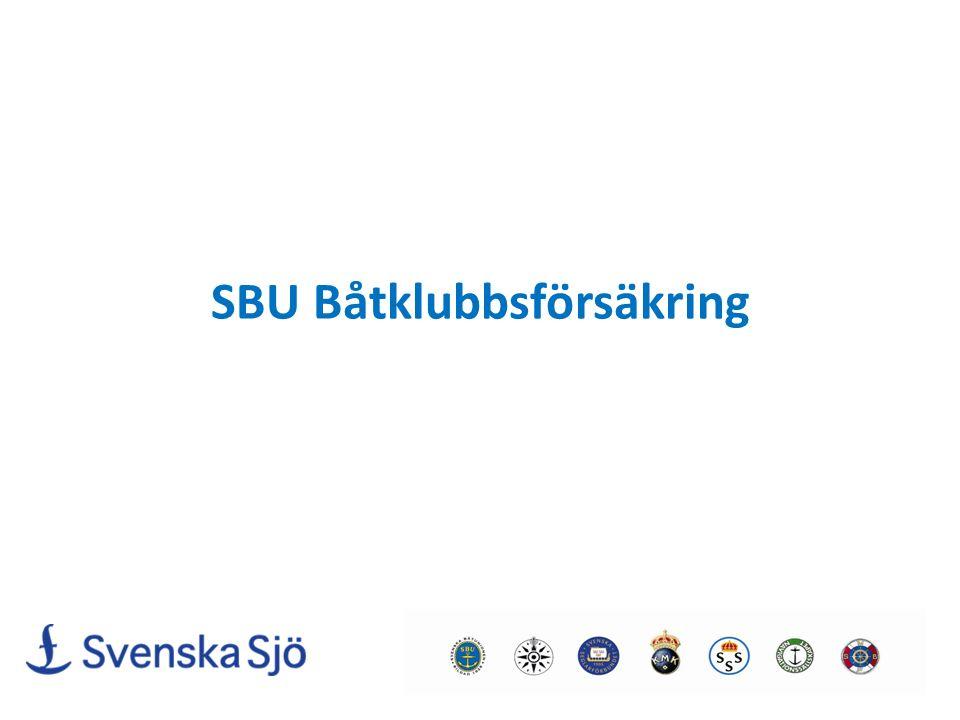 SBU Båtklubbsförsäkring