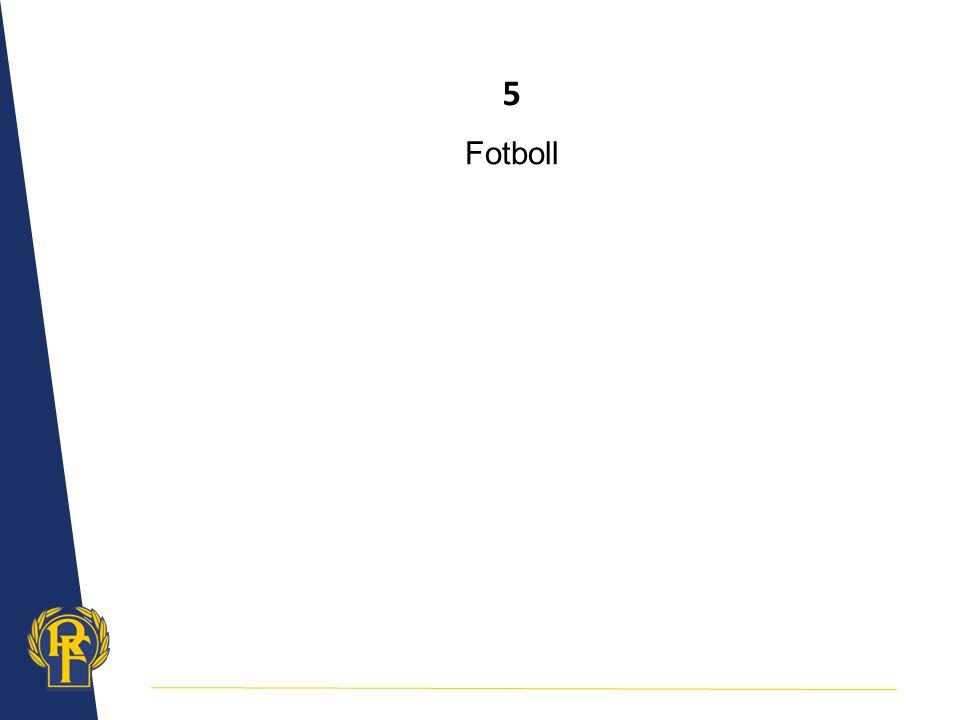 5 Fotboll