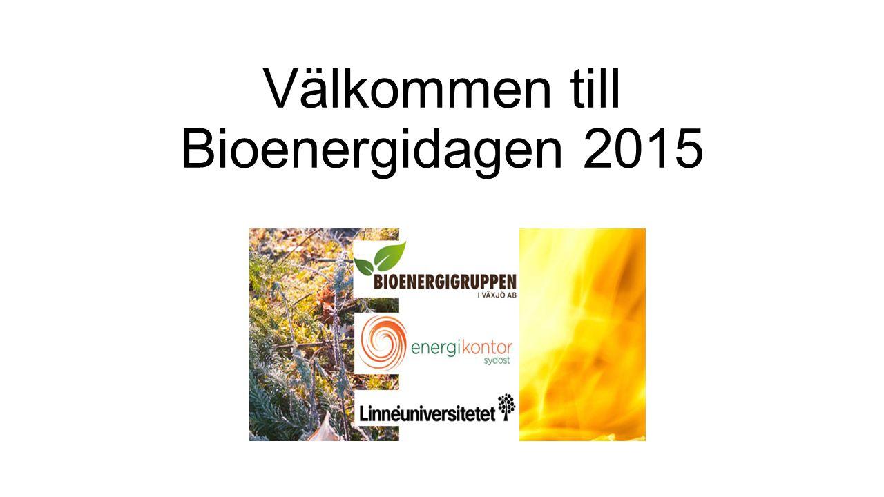 Välkommen till Bioenergidagen 2015