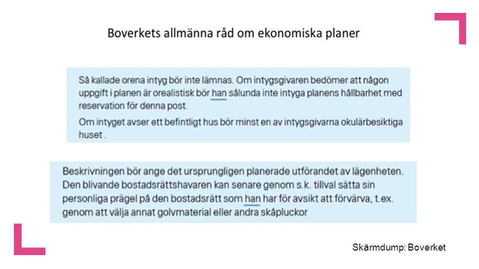 Skärmdump: Boverket